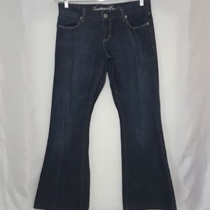 American Eagle Sz 6 Real Flare Jeans